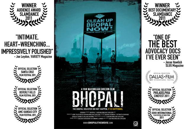 Bhopali film poster