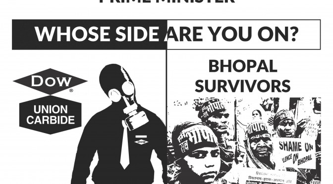 Survivor Organizations Condemn Modi Govt for its Failure in Resolving Issues of Bhopal Disaster