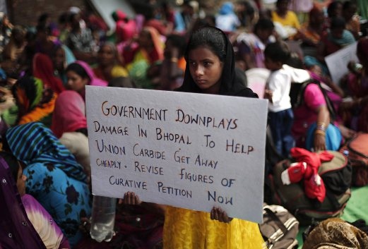 Bhopal victims launch hunger strike for better compensation