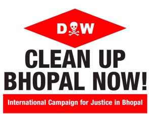 Dow Clean Up Bhopal Now