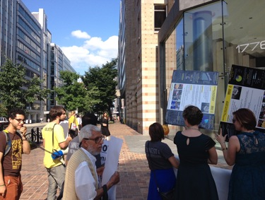DC Dow Protest 2014 Photo 1